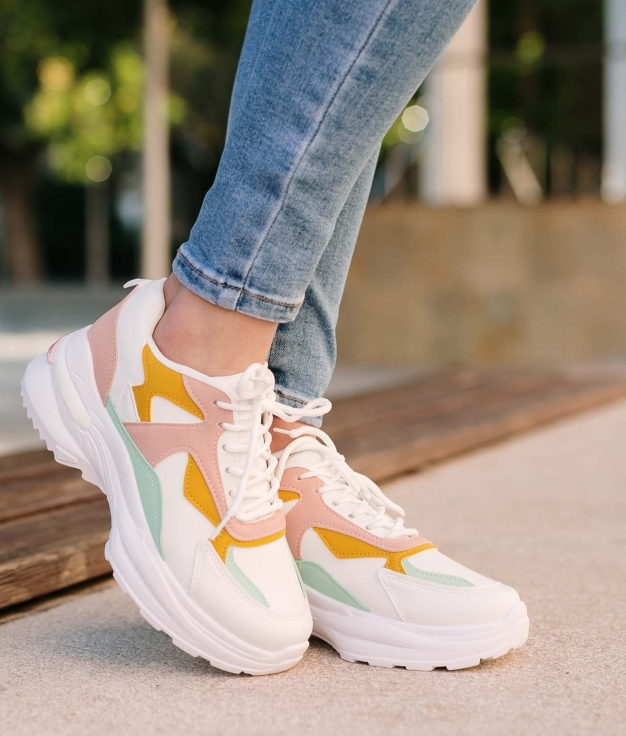 Sneakers Mapre - Pink