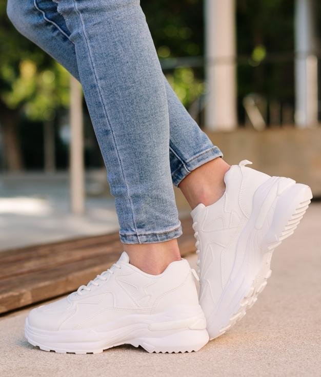 Sneakers Mapre - Blanc