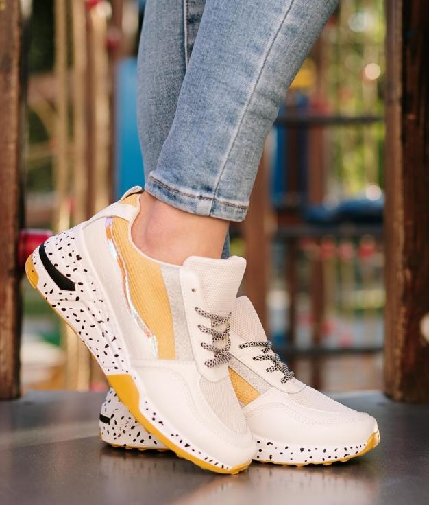 Sneakers Puntis - Giallo