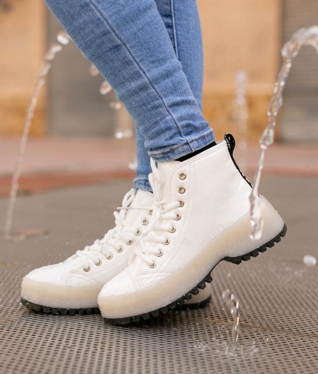 Low Boot Keny - Blanco