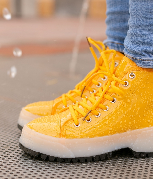 Low Boot Keny - Yellow