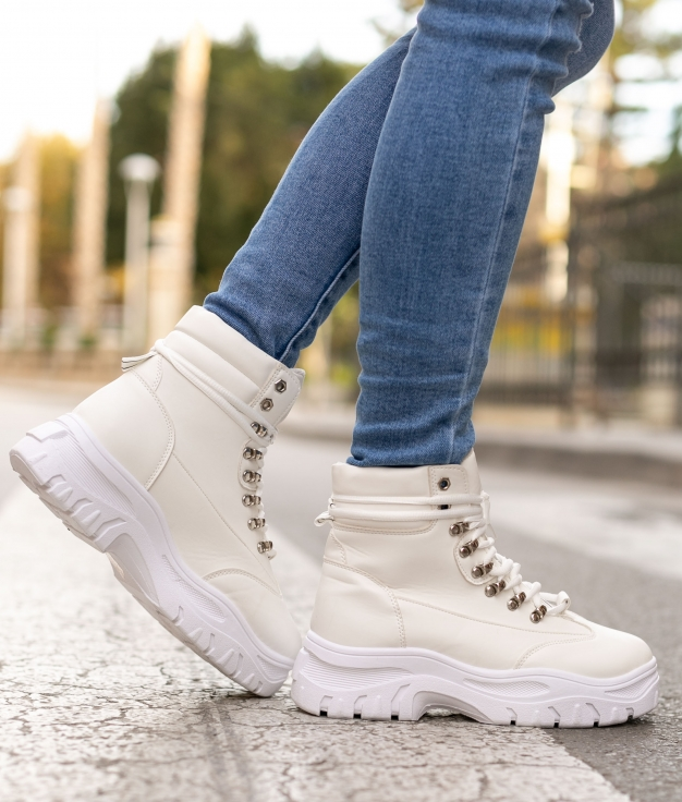 Boot Petite Robbin - Blanc