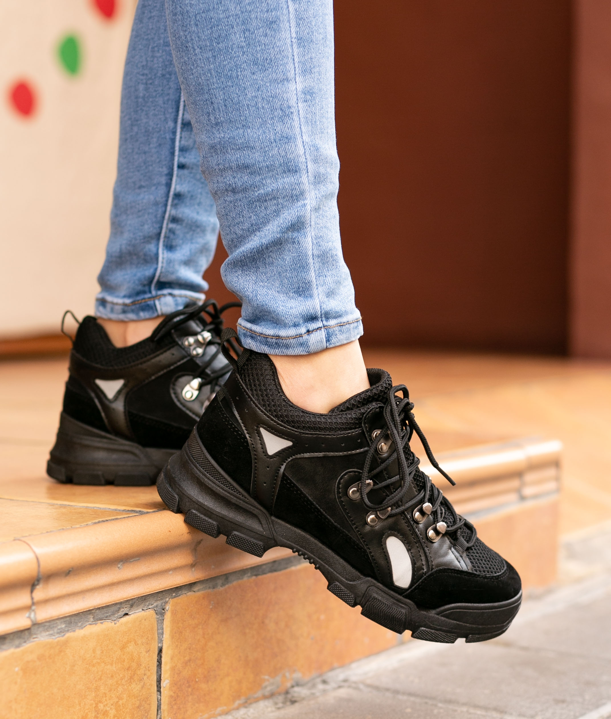 Sneakers Buchon - Preto