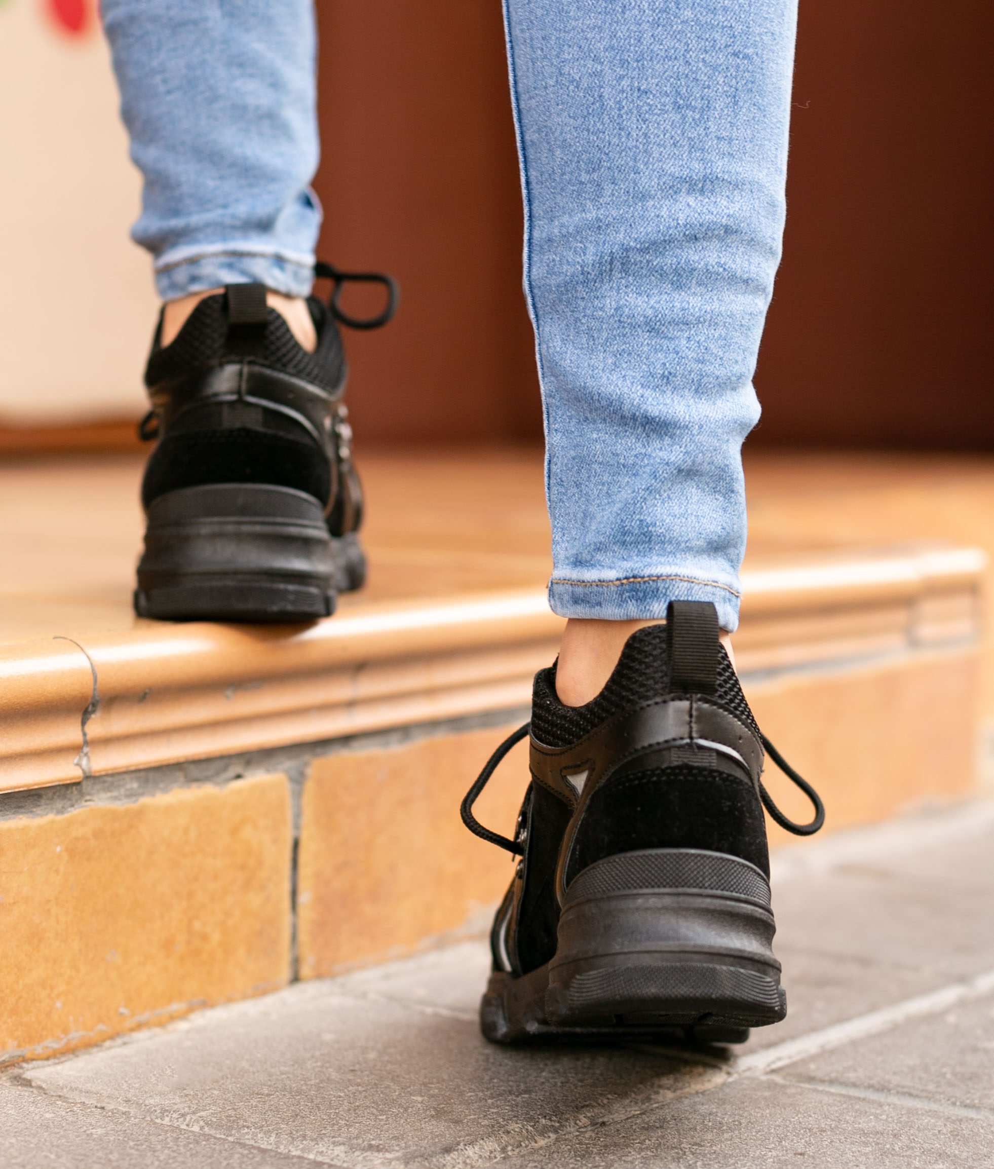 Sneakers Buchon - Negro