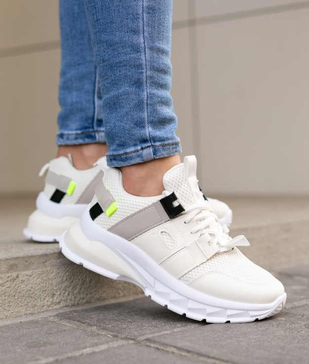 Sneakers Santer - Blanc