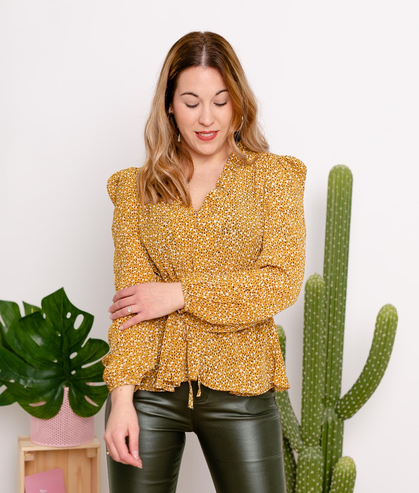 Blouse Visipe - Moutarde