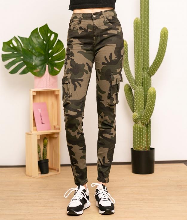 Pantalón Gozargi - Camouflage