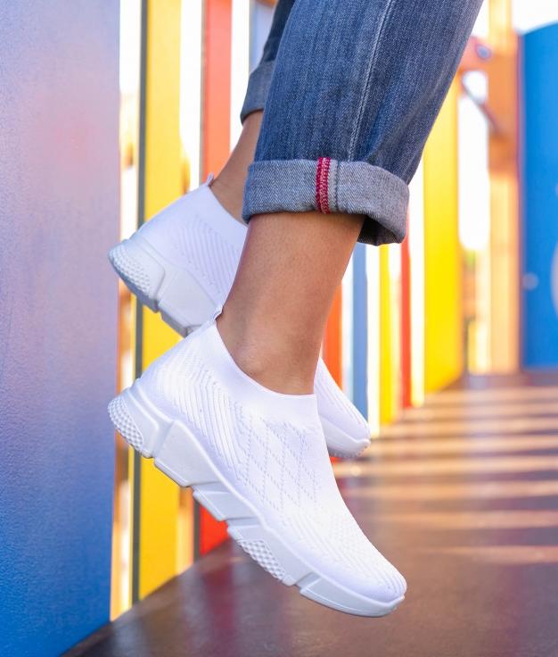 Sneakers Soker - Blanco