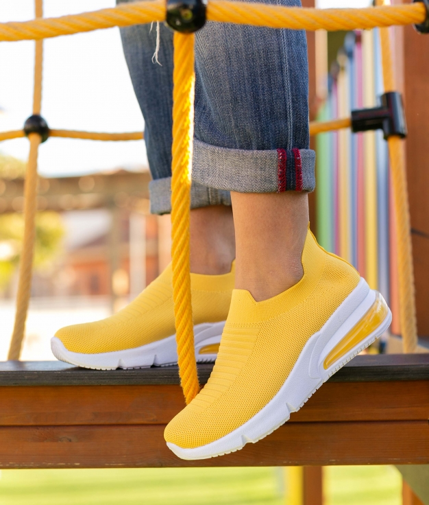 Sneakers Oltra - Amarelo