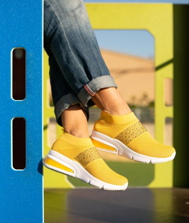 Sneakers Eixa - Amarelo
