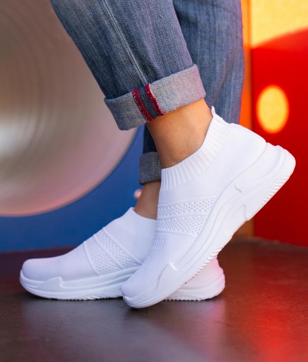 Sneakers Vespra - Blanc