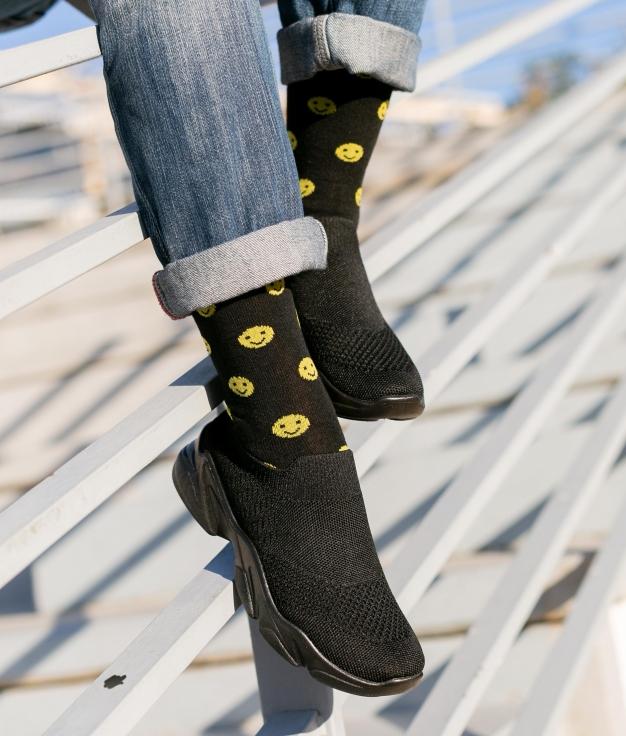 Sneakers Querin - Negro