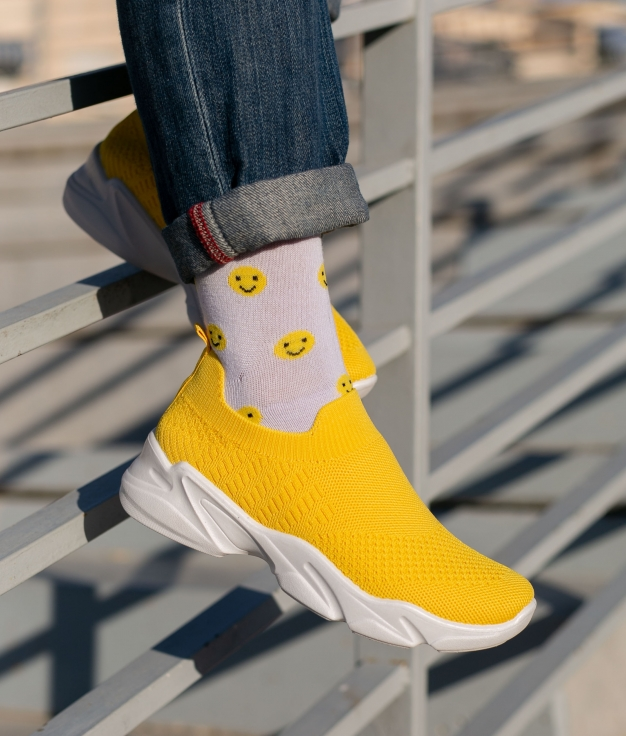 Sneakers Querin - Giallo