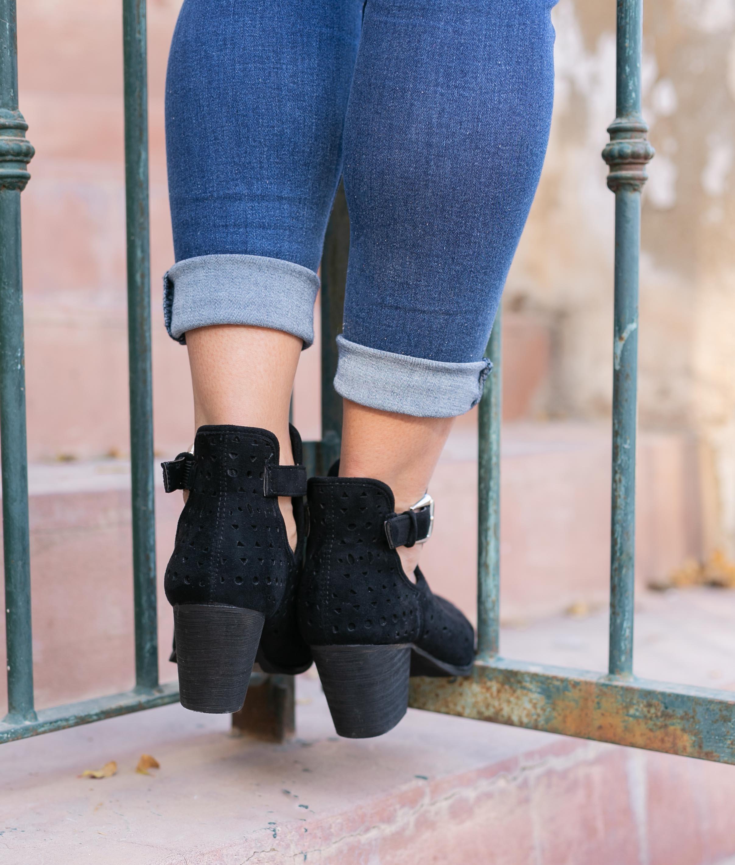 Low Boot Mondale - Black