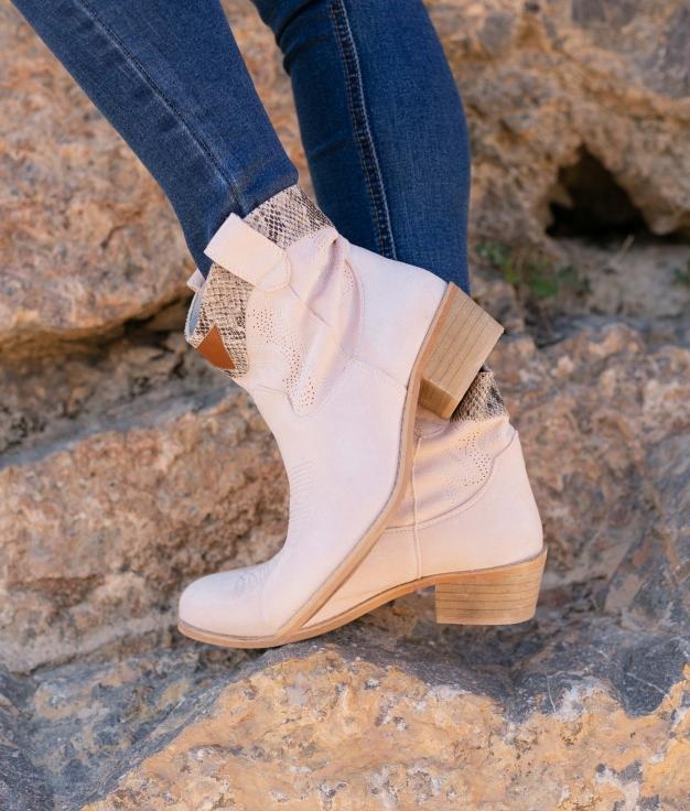Low Boot Verico - Beige