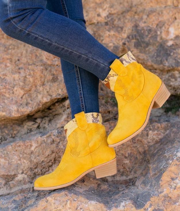 Boot Petite Verico - Jaune