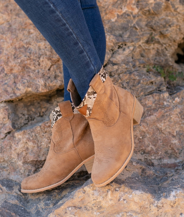 Low Boot Verico - Camel