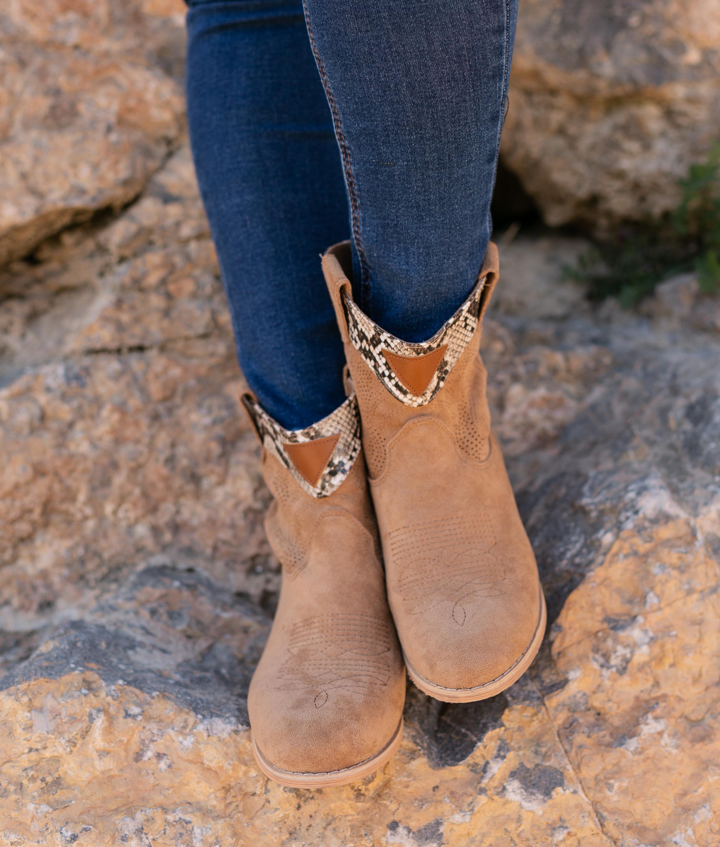 Boot Petite Verico - Chameau