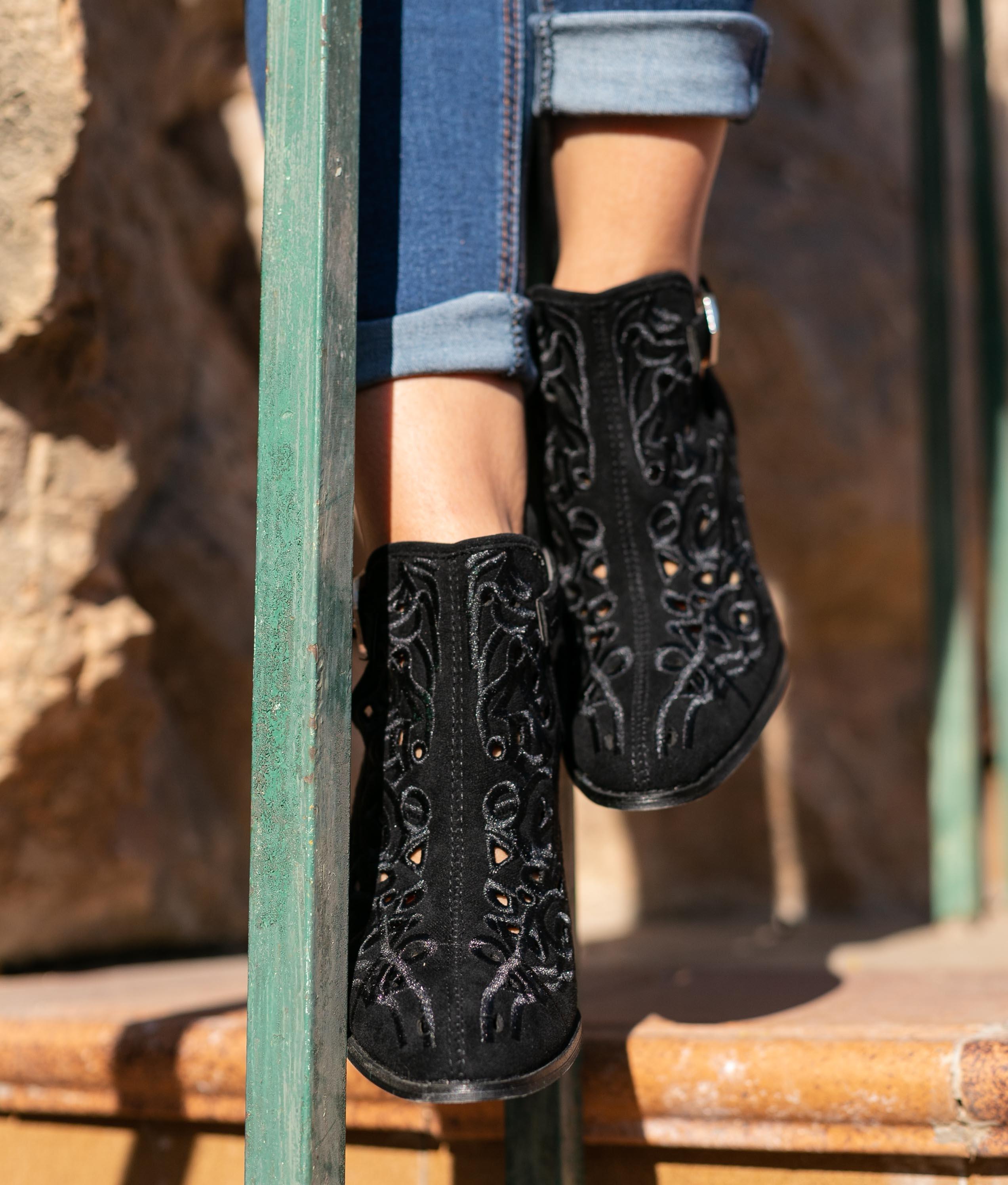Low Boot Yulena - Black
