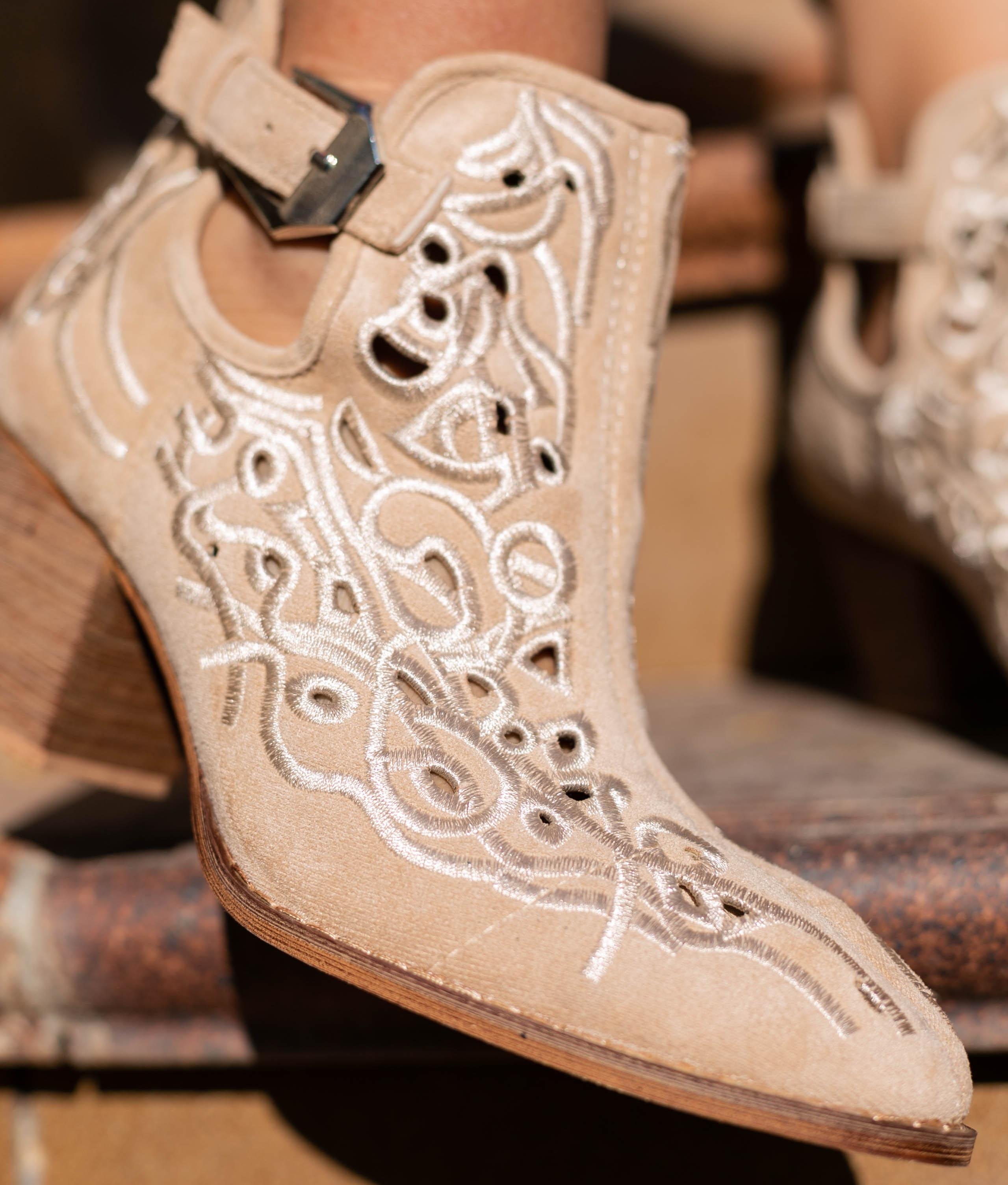 Low Boot Yulena - Beige