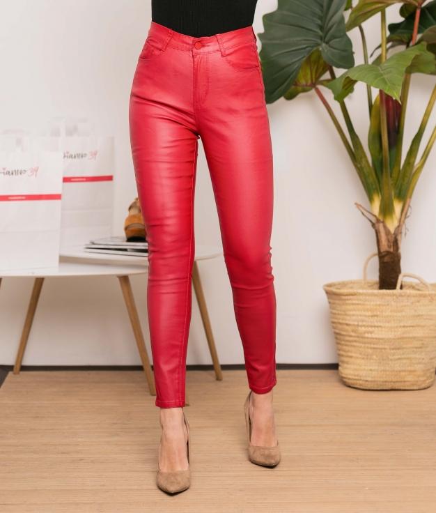 Pantalón Jonay - Rouge