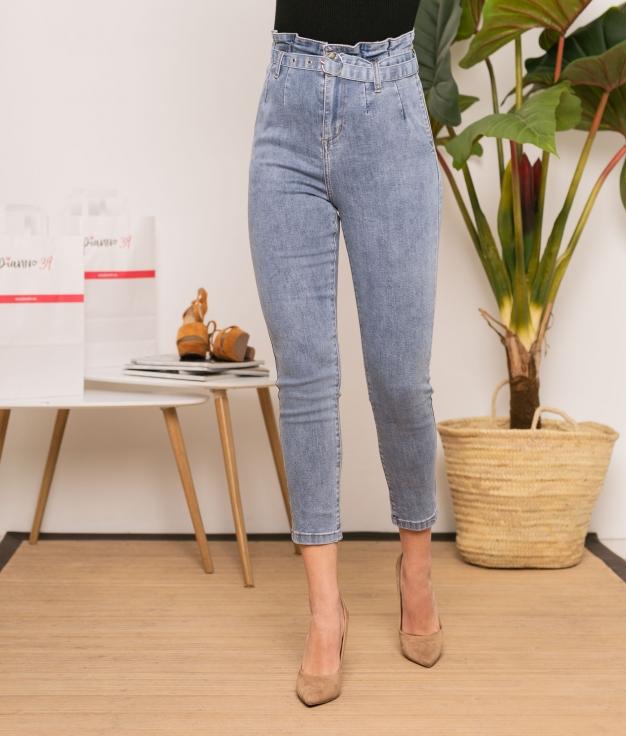 Pantaloni Genevi - Denim