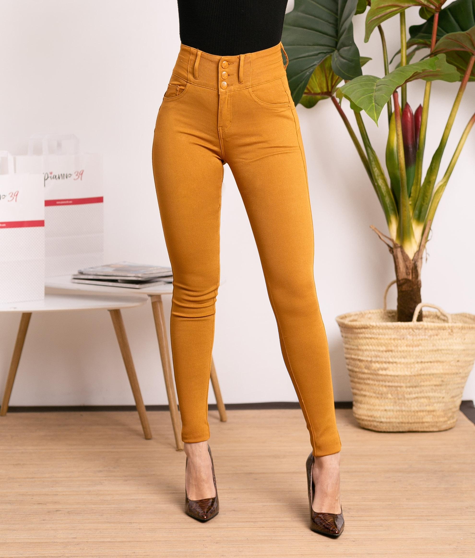 Pantaloni Subama - Senape