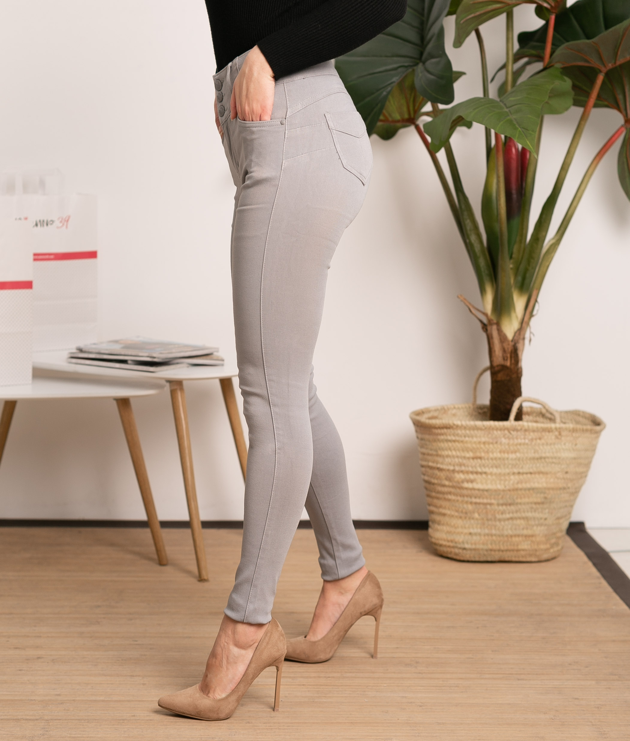 Pantaloni Subama - Grigio