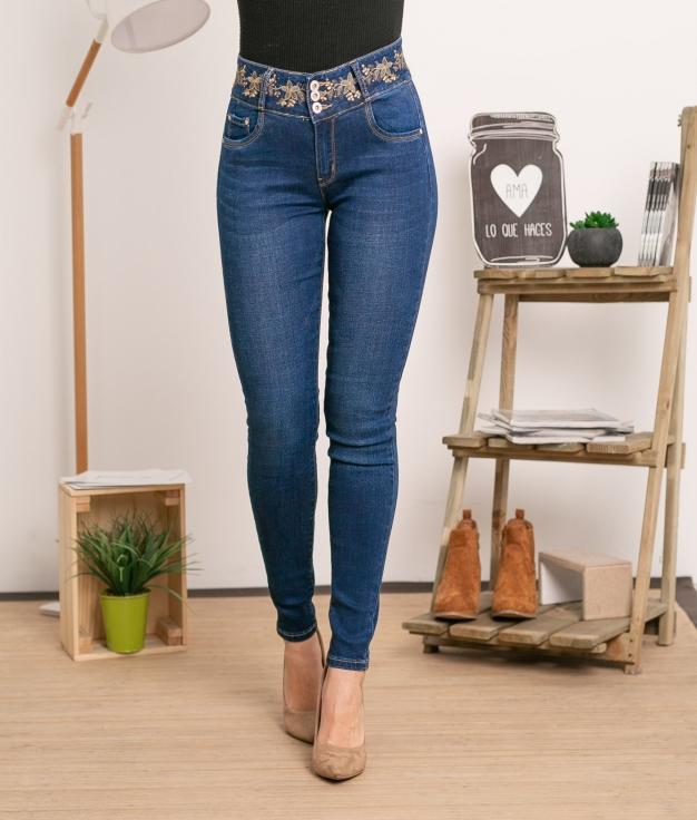 Trousers Iria - Denim