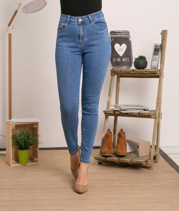 Pantaloni Gabon - Denim