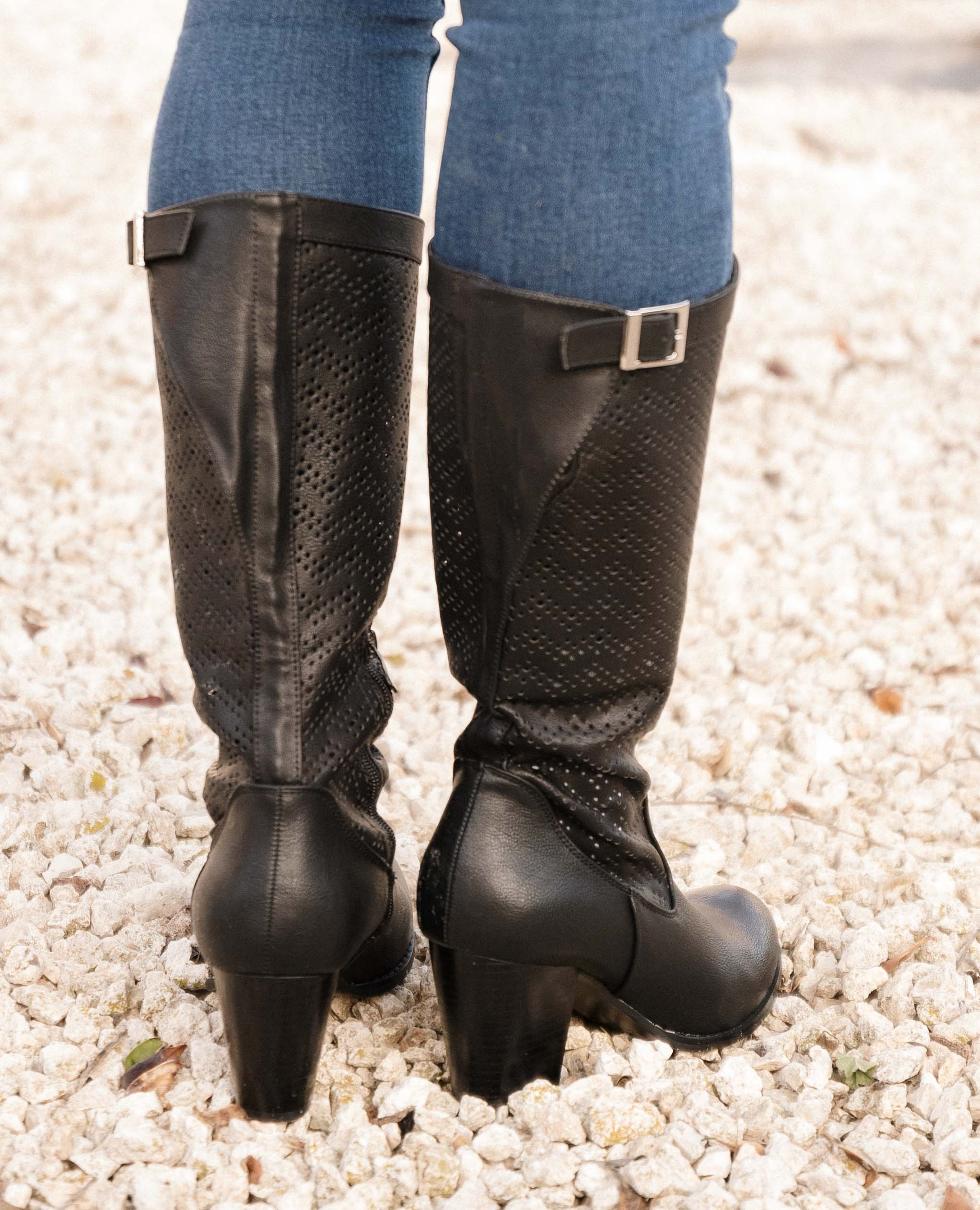 Knee-length Boot Elister - Black