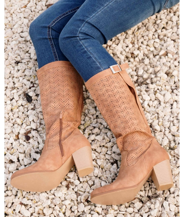 Knee-length Boot Elister - Camel