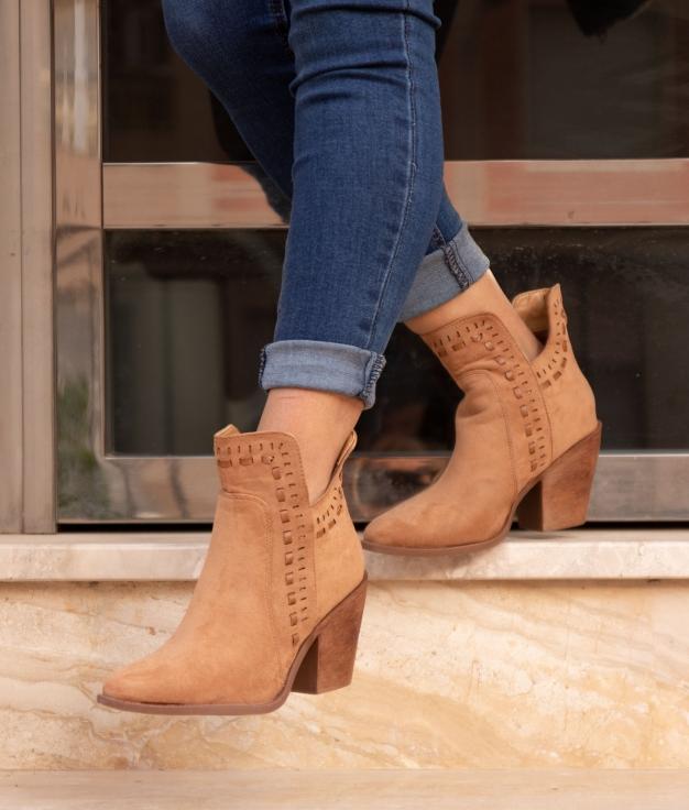 Low Boot Mondale - Khaki