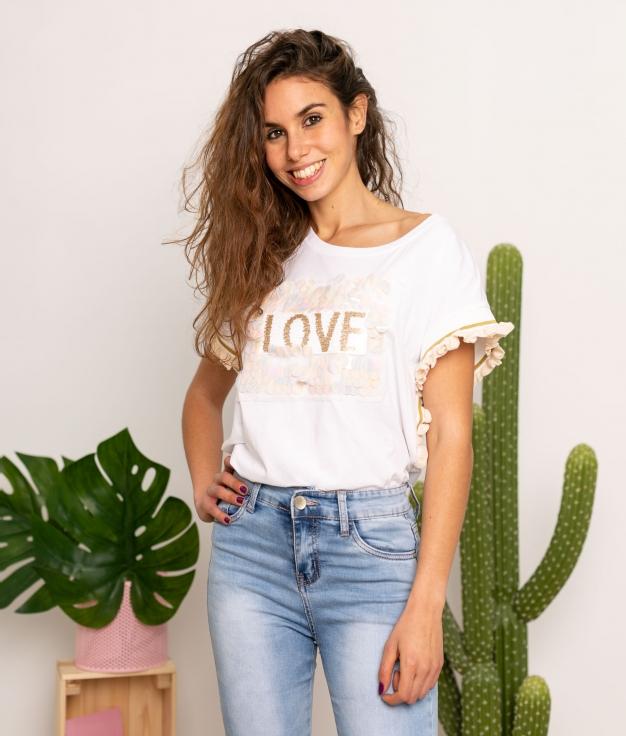 Camicia Sparkle - Beige