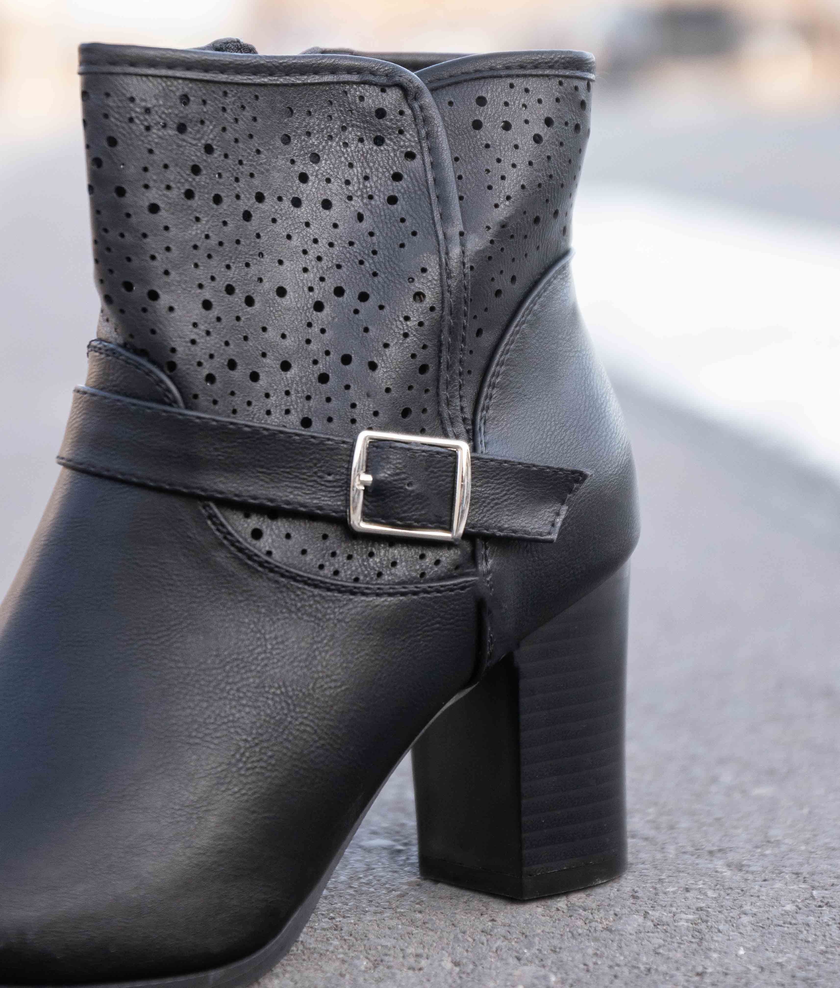 Low Boot Yansal - Black