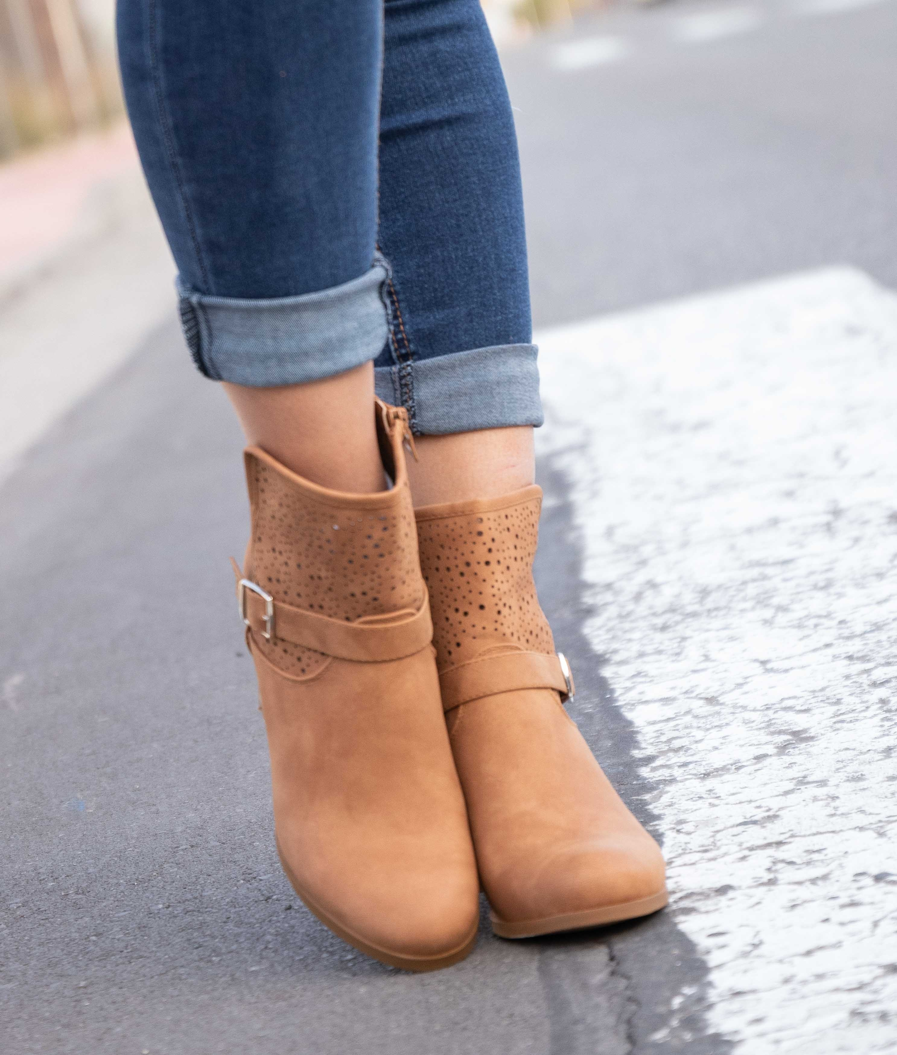 Low Boot Yansal - Camel