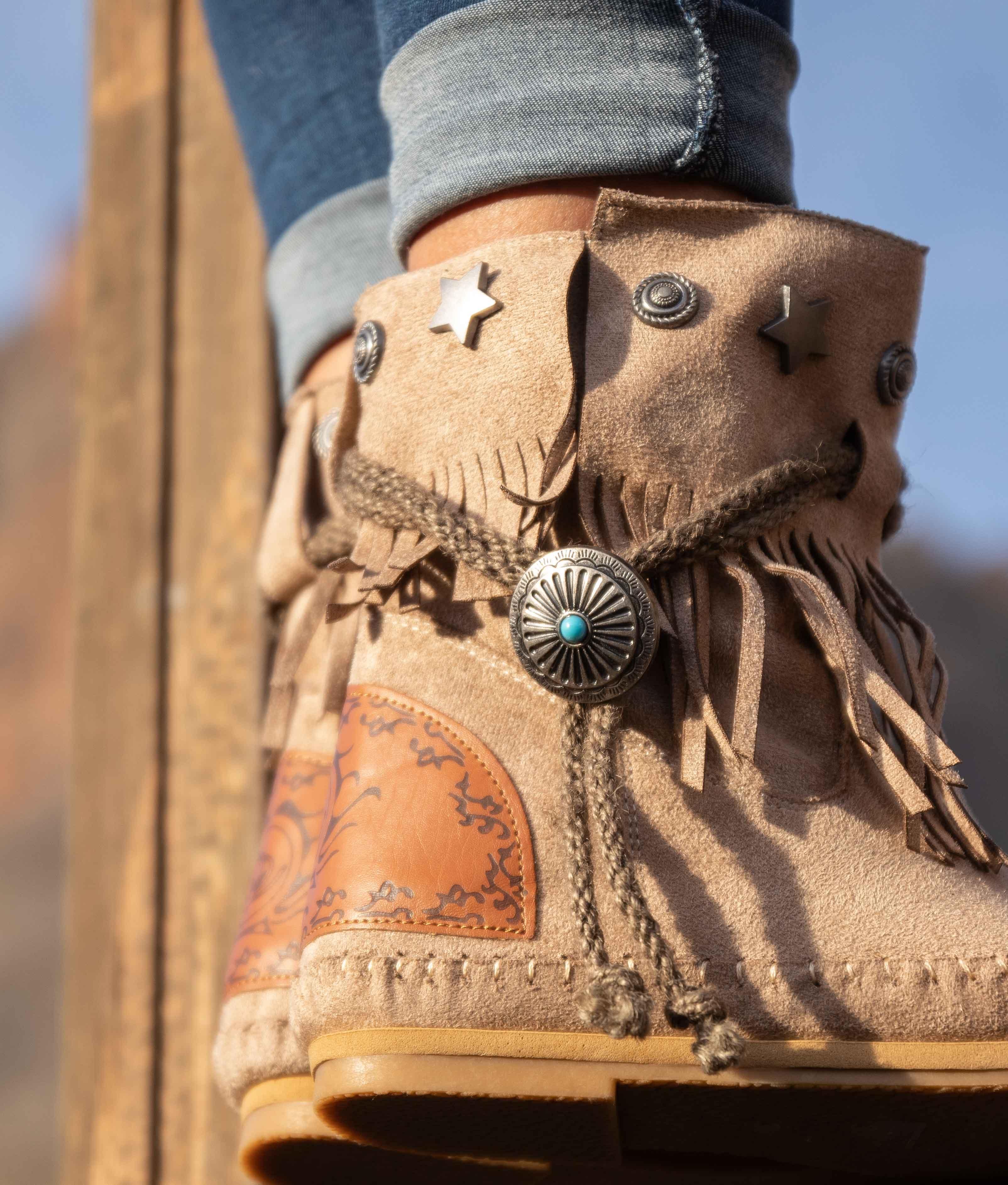 Low Boot Tresi - Khaki