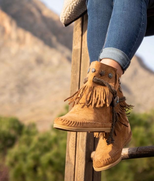 Low Boot Indianini Tresi - Camel