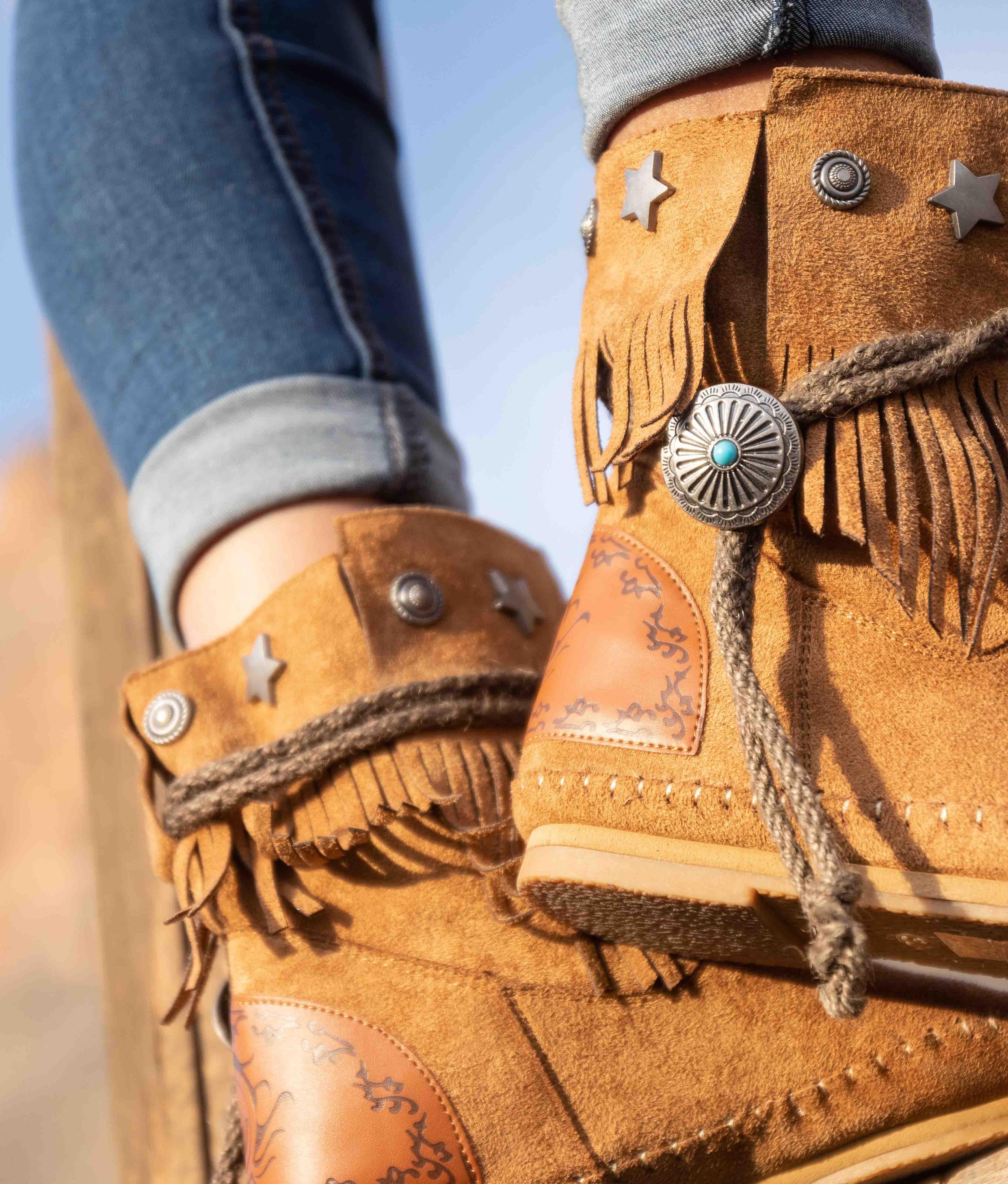 Low Boot Tresi - Camel