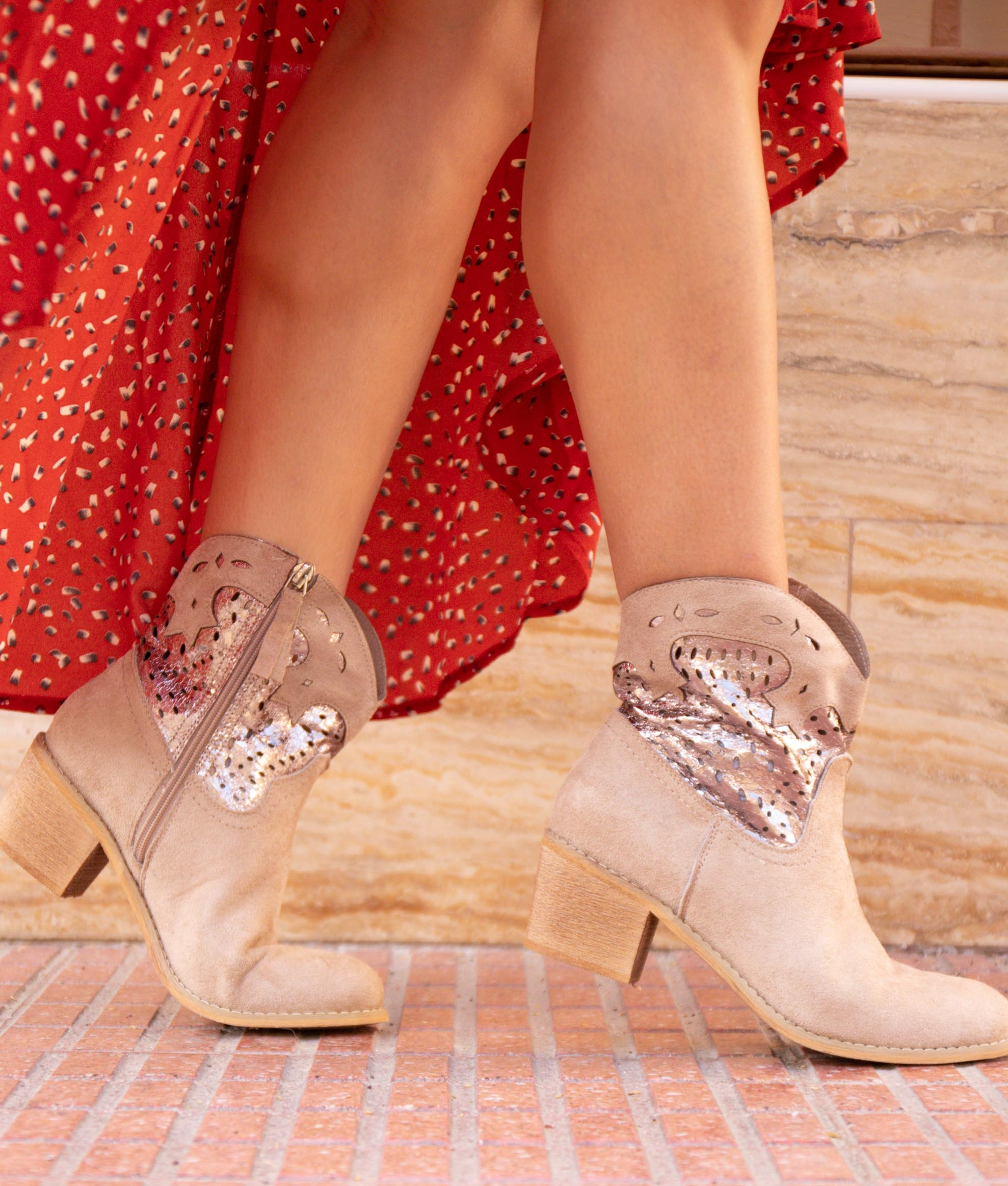 Low Boot Brena - Beige