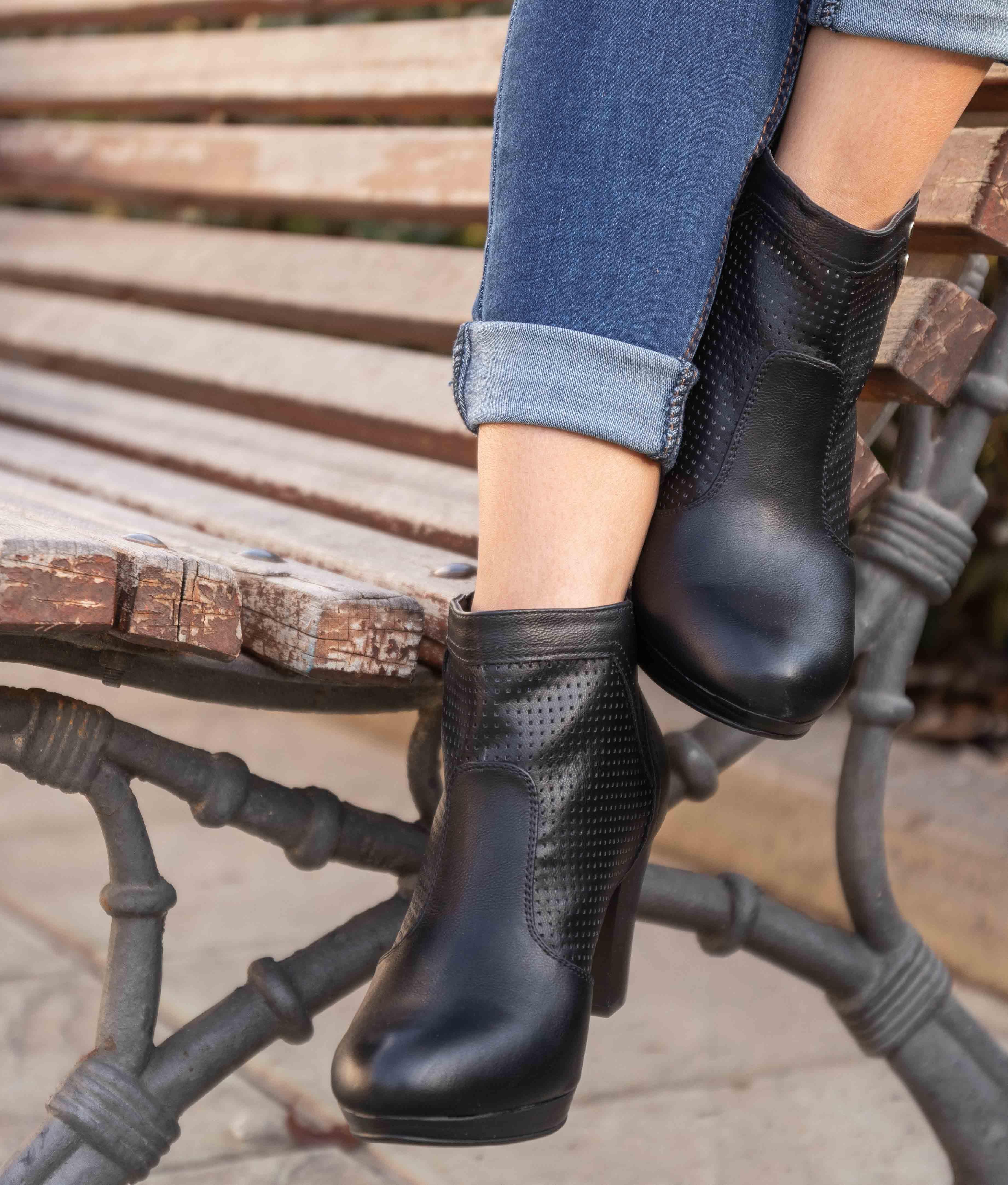Low Boot Nasen - Black