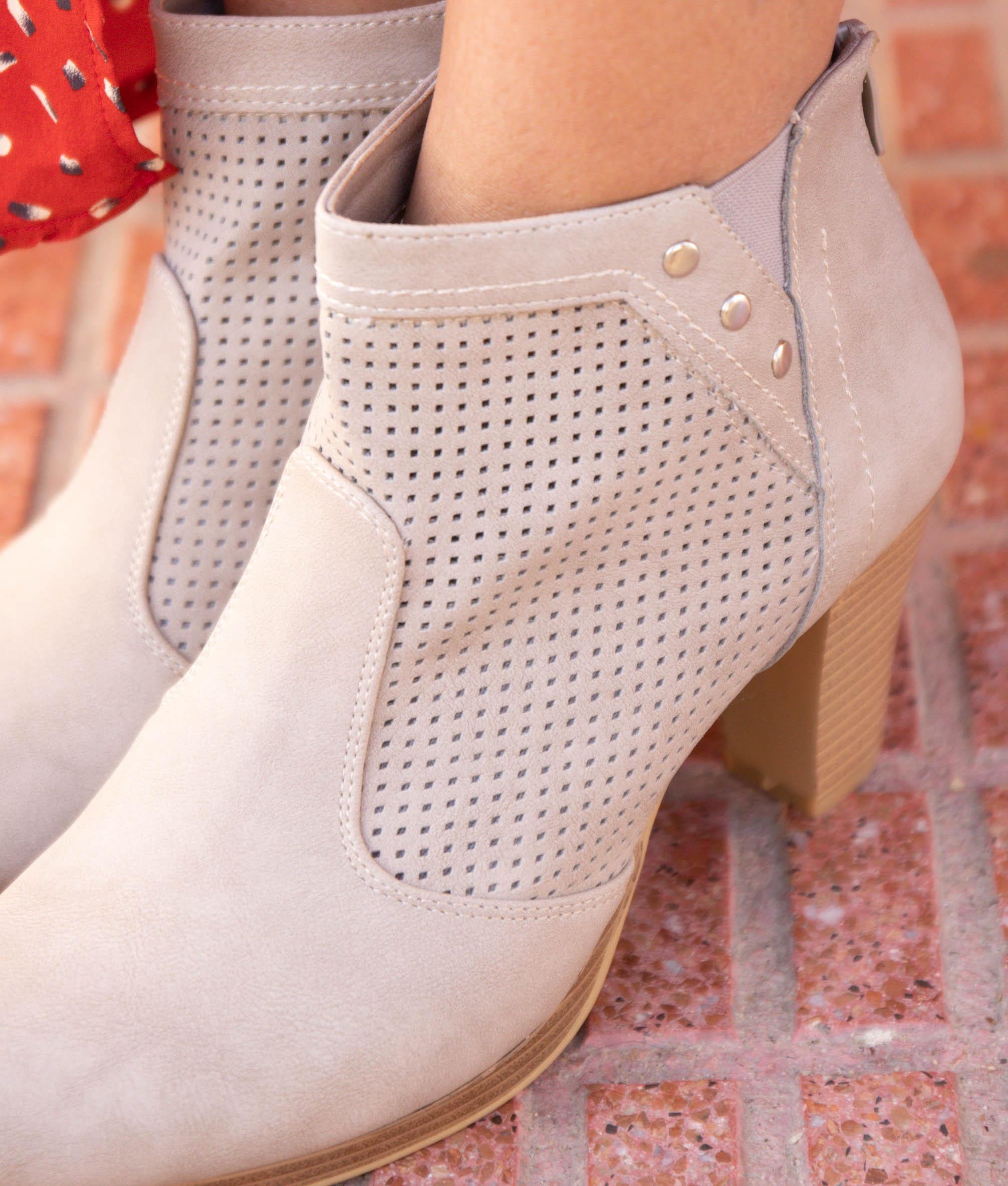 Low Boot Nasen - Grey