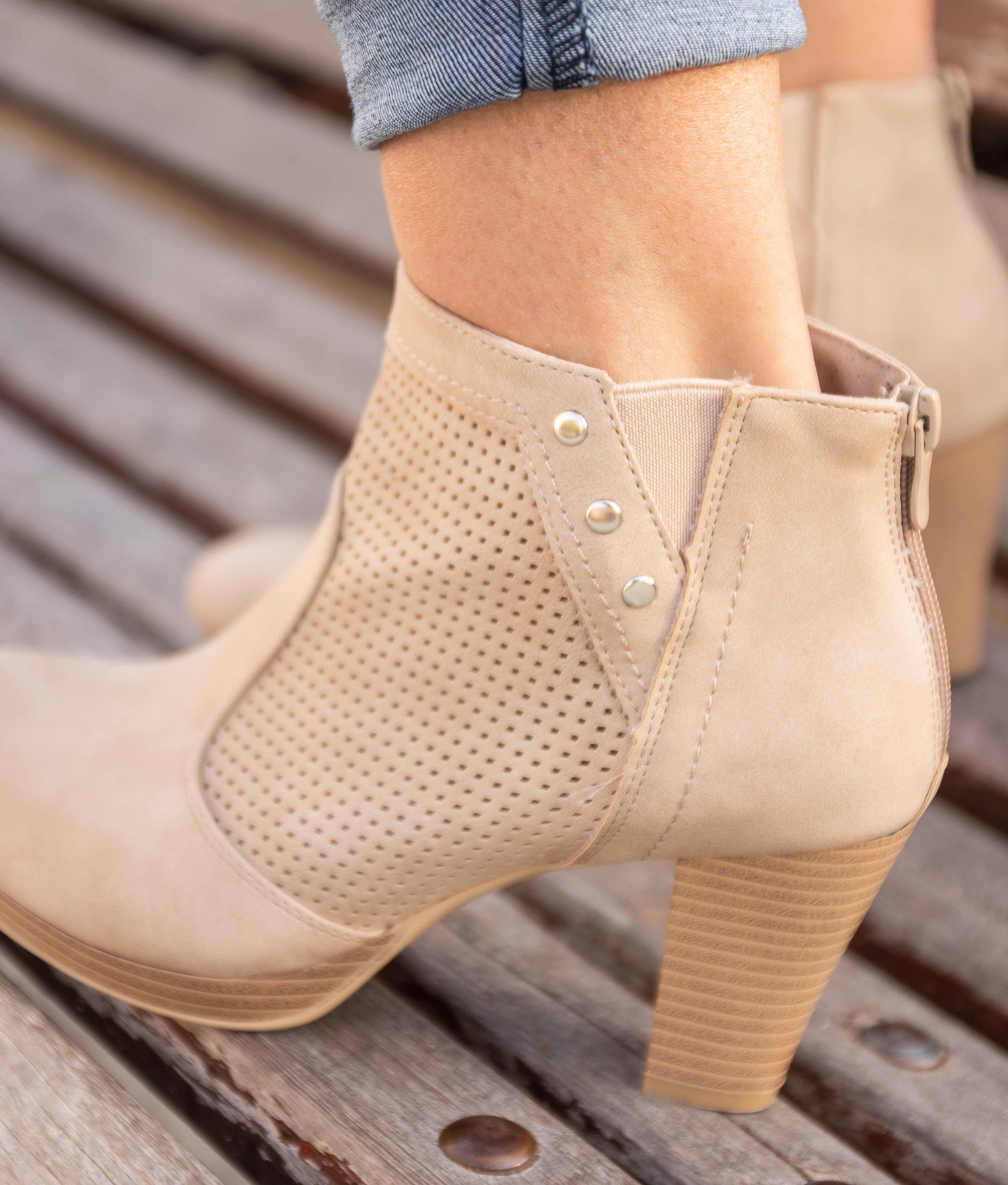 Low Boot Nasen - Beige