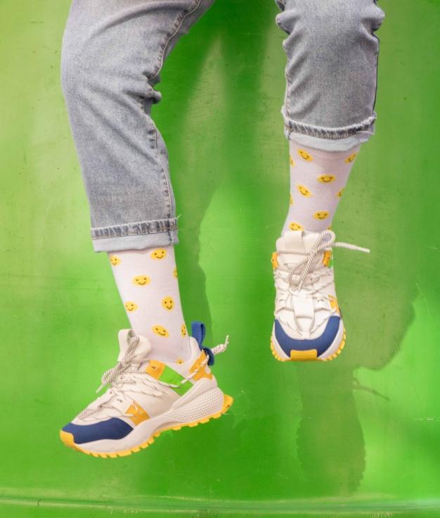 Sneakers Turen - Amarillo