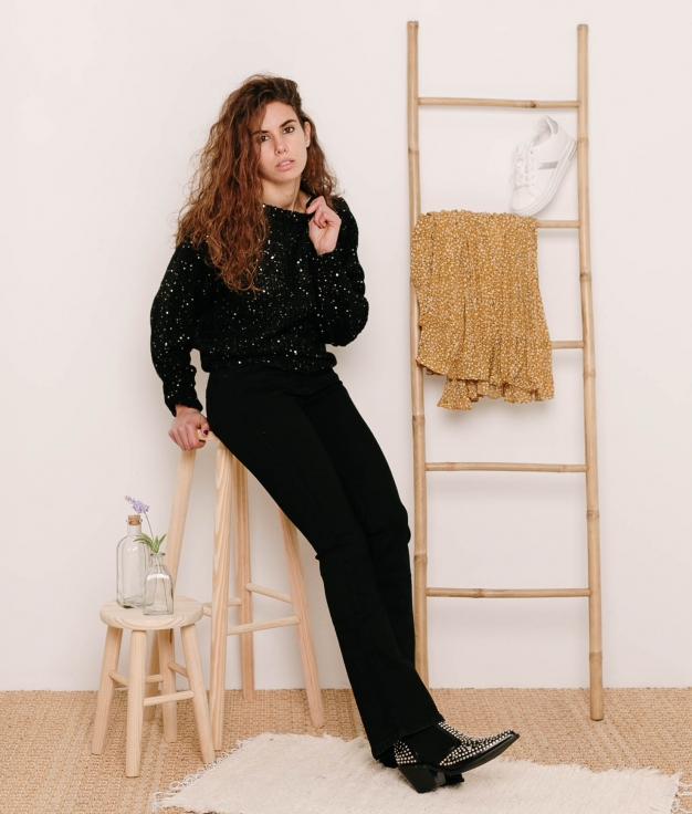 Pantaloni Norant - Nero