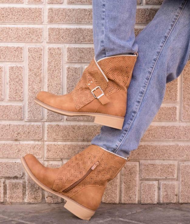 Low Boot Tersa - Camel
