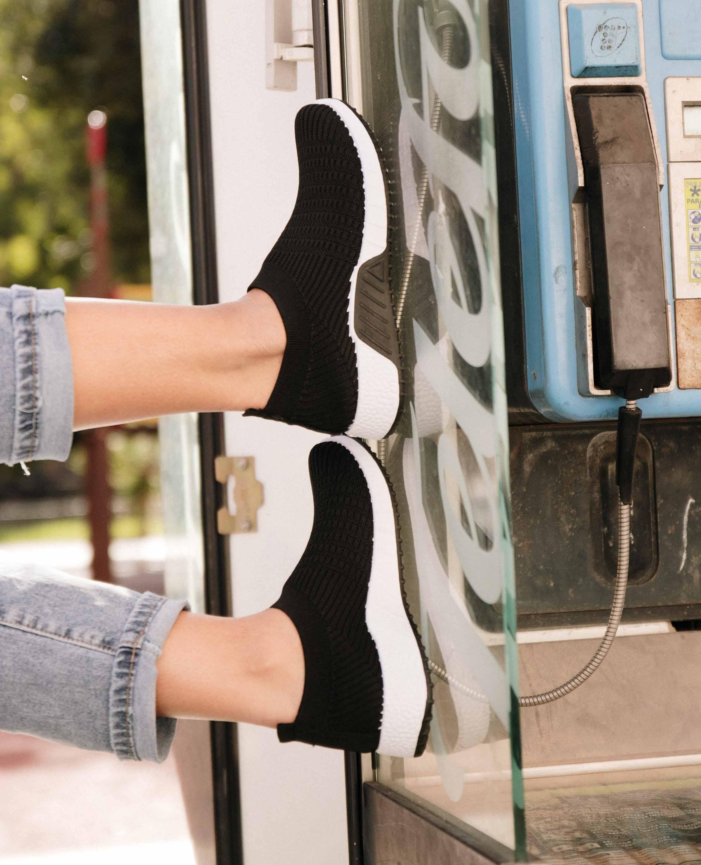 Sneakers Quirol - Negro/Blanco