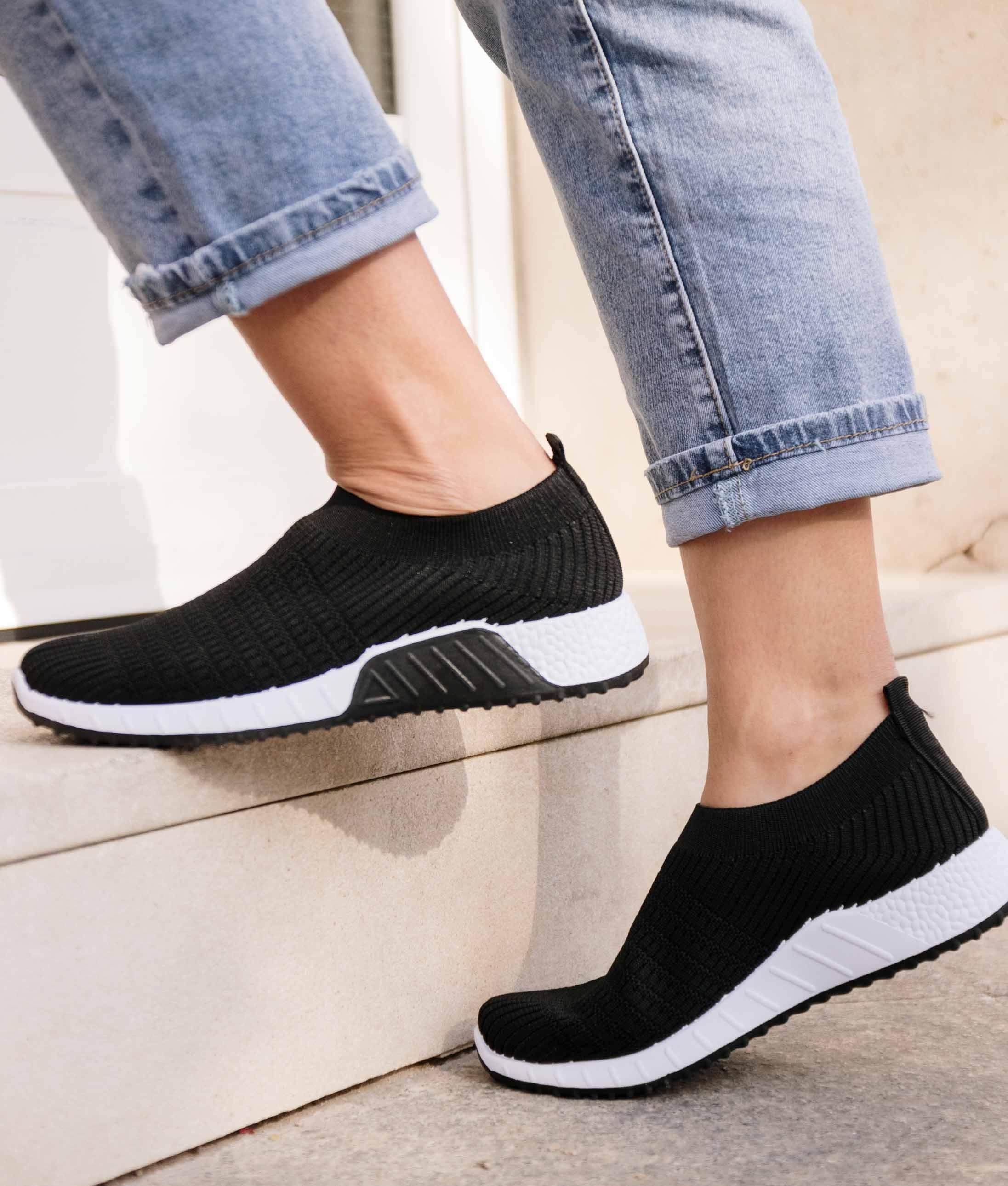 Sneakers Quirol - Preto/Branco