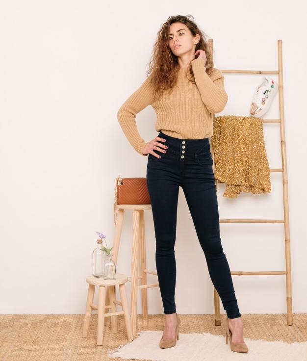 Pantaloni Exolom - Denim Scuro
