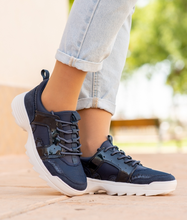 Sneakers Didet - Azul Marinho